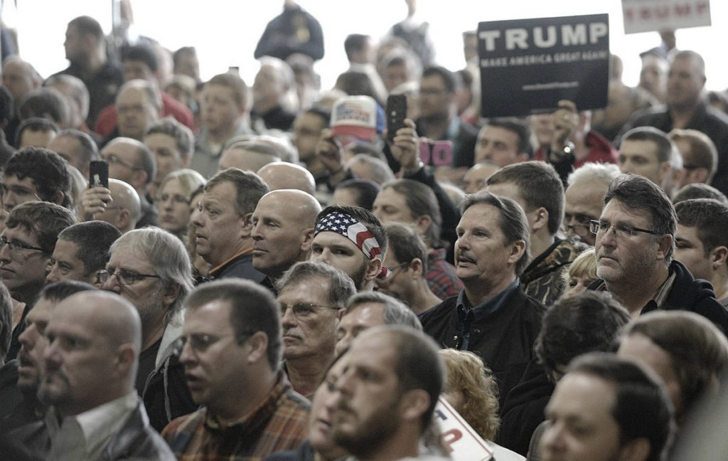 Donald Trump rallies in Illinois, March 2016. (Photo: Lori Ann Cook-Neisler, The Pantagraph)