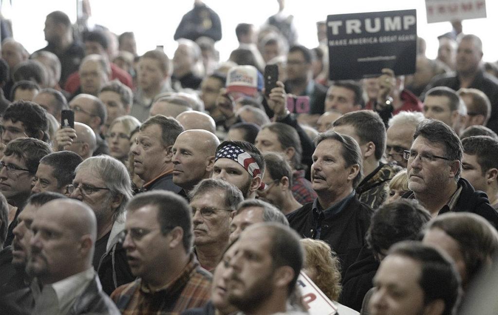 Donald Trump rallies in Illinois, March 2016. (Photo: Lori Ann Cook-Neisler, The Pantagraph)